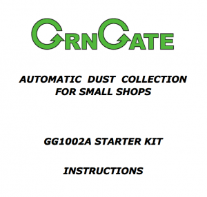 GrnGate Product Instructions Cover Page